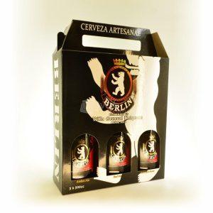 Villa General Belgrano - Berlín - Pack de Regalo de 3 Cervezas Artesanales