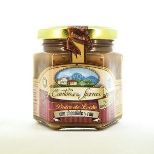 Villa General Belgrano - Cantón de Las Sierras - Dulce de Leche con Chocolate y Ron 280 gr