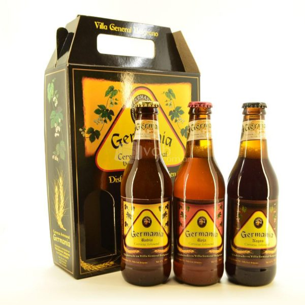 Villa General Belgrano - Germania - Pack de 3 Cervezas Artesanales 330 cc 1
