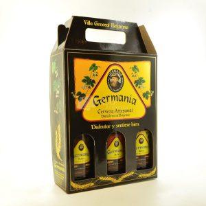 Villa General Belgrano - Germania - Pack de 3 Cervezas Artesanales 330 cc 2