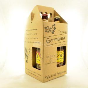 Villa General Belgrano - Germania - Pack de 4 Cervezas Artesanales 660 cc
