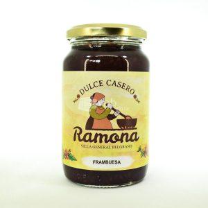 Villa General Belgrano - Ramona - Dulce de Frambuesa 500 cc