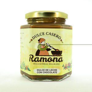 Villa General Belgrano - Ramona - Dulce de Leche con Chocolate 500 cc
