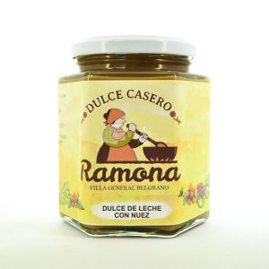 Villa General Belgrano - Ramona - Dulce de Leche con Nuez 500 cc
