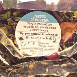 Villa General Belgrano - Sáan - Tienda de té - Blend de té - Jardines de Babilonia 2
