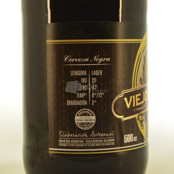 Villa General Belgrano - Viejo Munich - Bock - Cerveza Artesanal Negra 3