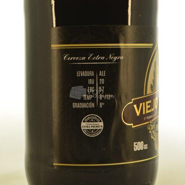 Villa General Belgrano - Viejo Munich - Doppelbock - Cerveza Artesanal Extra Negra 3