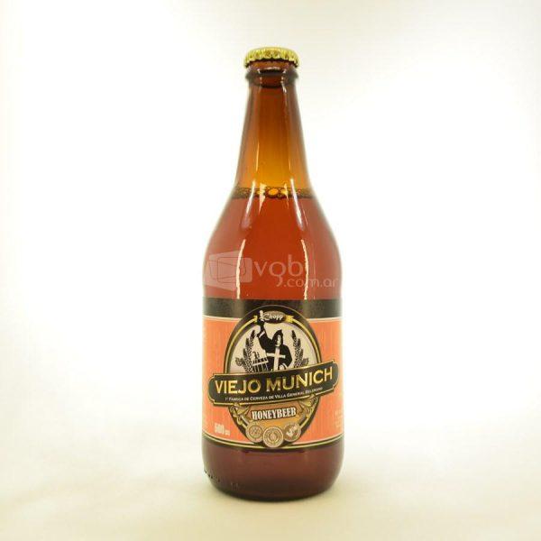 Villa General Belgrano - Viejo Munich - Honeybeer - Cerveza Artesanal Fuerte Rubia con Miel 1