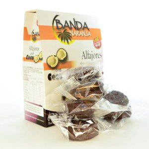 Villa General Belgrano - Banda Naranja - Alfajores de Dulce de Leche Con Baño de Repostería con Coco - Apto para Celiacos - Sin Gluten - Sin Tacc 2