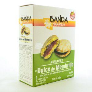 Villa General Belgrano - Banda Naranja - Alfajores de Dulce de Membrillo con Baño Azucarado - Apto para Celiacos - Sin Gluten - Sin Tacc 1