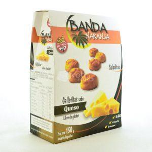 Villa General Belgrano - Banda Naranja - Galletitas Sabor Queso - Apto para Celiacos - Sin Gluten - Sin Tacc 1