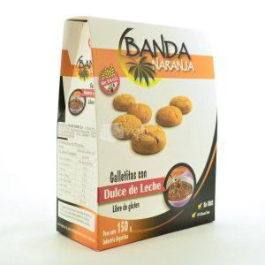Villa General Belgrano - Banda Naranja - Galletitas con Dulce de Leche - Apto para Celiacos - Sin Gluten - Sin Tacc 1