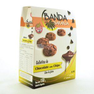 Villa General Belgrano - Banda Naranja - Galletitas de Chocolate con Chips - Apto para Celiacos - Sin Gluten - Sin Tacc 1