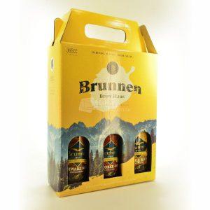 Villa General Belgrano - Brunnen - Pack de 3 Cervezas Artesanales de 365 cc 1