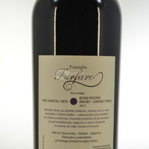 Villa General Belgrano - Famiglia Furfaro - Blend Reserva Malbec Cabernet Franc - Vino Varietal Tinto 2