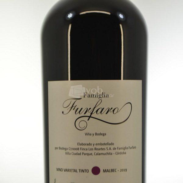 Villa General Belgrano - Famiglia Furfaro - Malbec - Vino Varietal Tinto 2