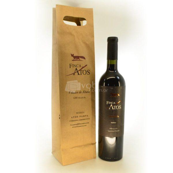 Villa General Belgrano - Finca Atos - Pack Vino con Bolsa para Regalo