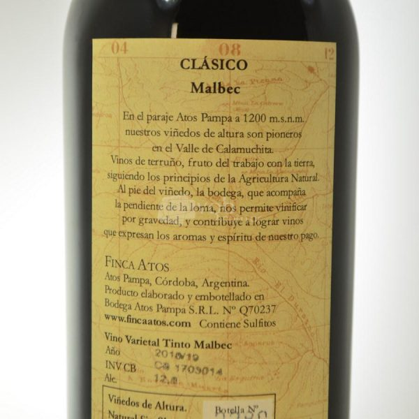 Villa General Belgrano - Finca Atos - Vino Malbec 3