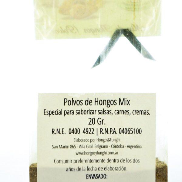 Villa General Belgrano - Hongos & Funghi - Mix de Hongos en Polvo 20 gr 3