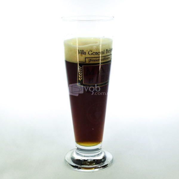 Villa General Belgrano - Mak Bier - Vaso Cervecero Tulipa con Cerveza