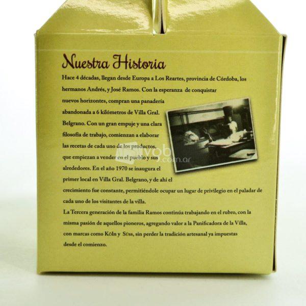 Villa General Belgrano - Süss - Caja de Chocolate Artesanal Negro con Leche, Negro Amargo y Blanco, con Almendras Avellanas y Maní 7