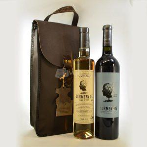 Villa General Belgrano - Vista Grande - 1 Vino Surmenage Orange Blend + 1 Vino 30/08 + Estuche de Cuero