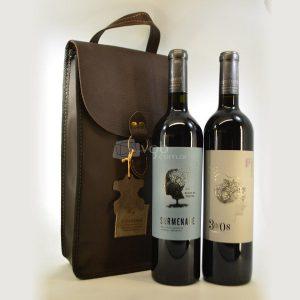 Villa General Belgrano - Vista Grande - 1 Vino 30/08 + 1 Vino Surmenage + Estuche de Cuero