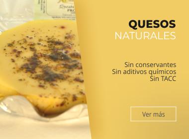 Quesos naturales Villa General Belgrano