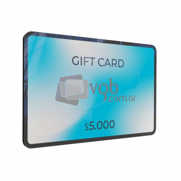 Villa General Belgrano - VGB - Gift Cards $5.000 - Tarjeta de regalo para compras