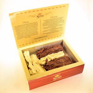 Villa General Belgrano - Süss - Chocolate Artesanal en Rama Negro y Blanco 200 gr 1