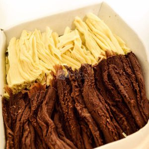 Villa General Belgrano - Süss - Chocolate Artesanal en Rama Negro y Blanco 400 gr 2